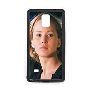 Samsung Galaxy Note 4 Cell Phone Case Black_Jennifer Lawrence Natural Film Girl Face Ssbzs