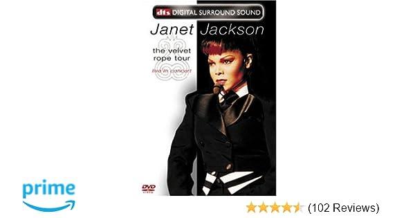 Amazon com: Janet Jackson - The Velvet Rope Tour (Live in