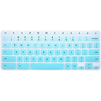for Acer Chromebook 14 Keyboard Protector Skin Cover for 2018 Acer Chromebook 14 CB3-431 CP5-471 14-inch Chromebook US Version Ranibow