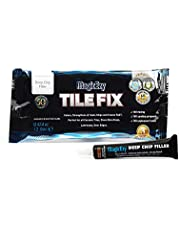 MagicEzy Tile Fix - Professionally and Easily Touch-UpCrackslessthan 1 mmon Your Floor and Wall Tiles, Porcelain and Ceramic Surfaces