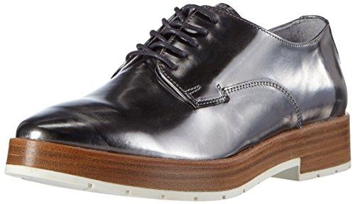 Hip D1215/162/0000/0000 - Zapatos con Cordones, Mujer, Plateado (91ME), 40 Hip
