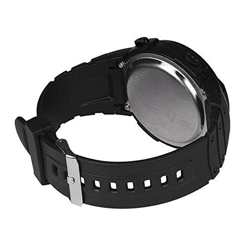 Fashion Waterproof Men's Boy LCD Digital Watch,Outsta Stopwatch Date Rubber Sport Wrist Watch (White) by Outsta Watch (Image #2)