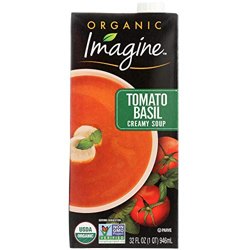 Imagine Organic Creamy Soup, Tomato Basil, 32 oz.