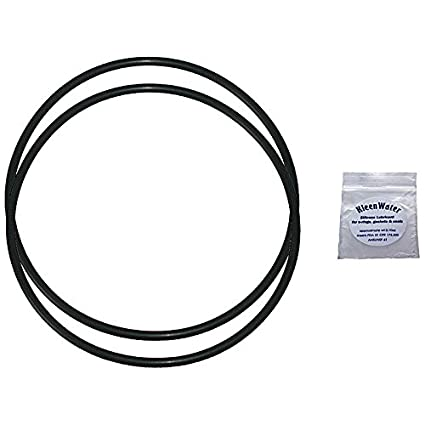 Aqua-Pure AP101T / AP102T Whole House Water Filter Housing Replacement  O-Rings (2) with Silicone Lubricant Packet for O-rings (1)