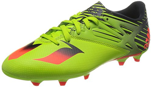 e69e9633a90 adidas Messi 15.3 Green Mens FG AG Soccer Cleats