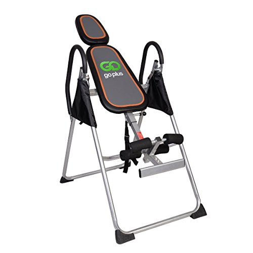 Premium Foldable Gravity Inversion Table Back Therapy Fitness Reflexology by go plus