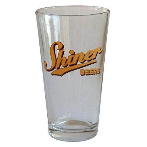 Shiner Pint Glass - Shiner Beers Yellow Logo