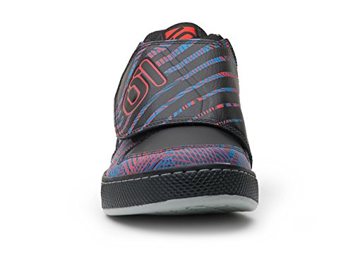Five Ten Freerider Peterkin-Scarpe da Mountain bike, motivo Psychedelic colore: rosso/blu