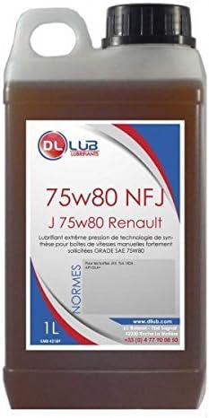 DLLUB-Aceite para caja DE cambios RENAULT J 75W 80-1 litro: Amazon.es: Amazon.es