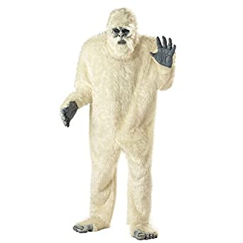California Costumes Menu0027s Abominable Snowman Costume,White,One Size