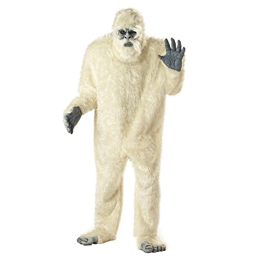 California Costumes Men's Abominable Snowman Costume,White,One Size -