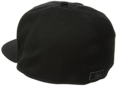 New Era Chicago Cubs 59FIFTY Black on Black Fitted Hat