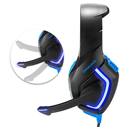 Onikuma Led Gaming Headset For Ps4 Xbox One With Led