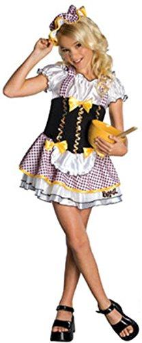 New Girls Bratz Bratty Goldilocks Costume Large 12-14 (Goldilocks Halloween)