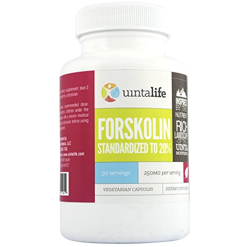 Pure Forskolin - Standardized to 20% - 30 Servings