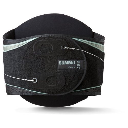 Aspen Summit 637 Back Brace; Black; X-Large - 992350