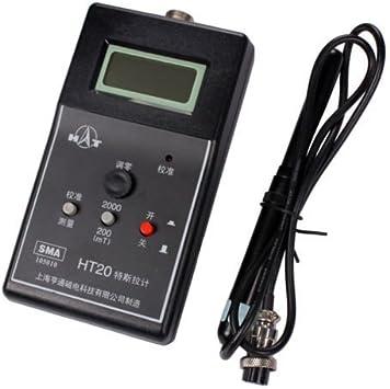 Medidor digital de gauss estático magnético de campo Tesla medidor ...