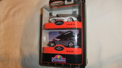 MATCHBOX COLLECTIBLES 1:64 TIMELESS CLASSICS THEN AND NOW 1957 CORVETTE AND 1997 CORVETTE COUPE EXCLUSIVE DIE-CAST SET ()