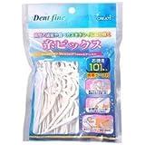 デントファイン 糸ピックス 101本入