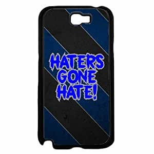 Haters Gone Hate- TPU RUBBER SILICONE Phone Case Back Iphone 5/5S