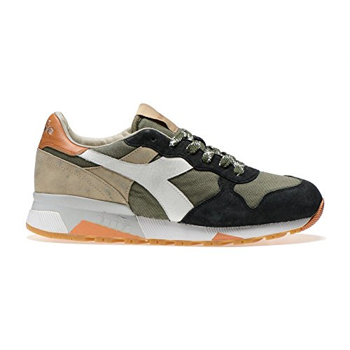 basse 01 201 161304 C TRIDENT sneakers SW DIADORA C6158 VERDE uomo 90 HERITAGE 41 BEIGE RqvtwnTfp
