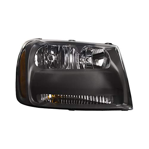 HEADLIGHTSDEPOT Compatible with Right Passenger Side Headlight Assembly For Chevrolet Trailblazer LT ()