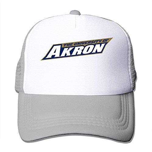 Price comparison product image XJBD Unisex University Of Akron Fishing Visor Cap Ash