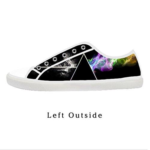 Custom Women Pink Floyd Canvas Shoes Comfortable Sneakers US7
