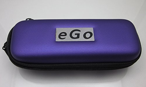 Case for Electronic E Cigarette HOLDER, Personal Travel Carry Case- PURPLE (FREE BIO ENERGY CARD WITH YOUR CASE)
