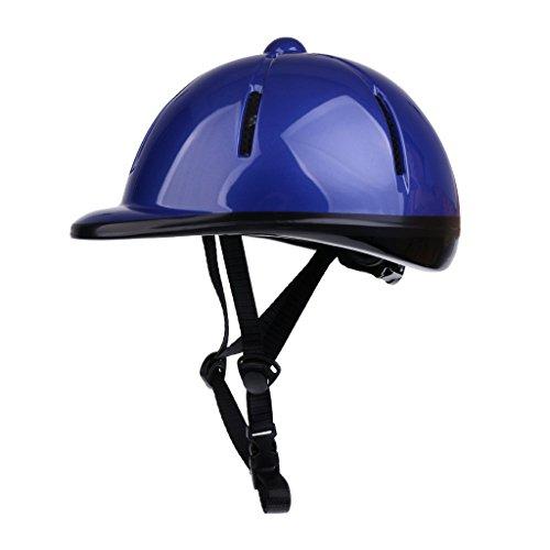 TOOGOO Children Kids Adjustable Horse Riding Hat/Helmet Head Protective Gear - Blue
