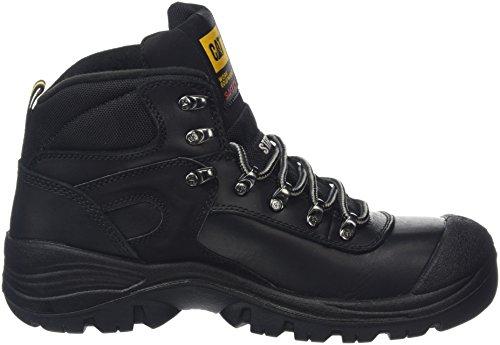Caterpillar Pneumatic S3, Zapatos de Securidad Hombre Negro (Black)