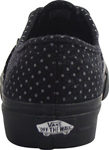 Black Dots polka Vans Basses Sneakers Adulte Mixte Authentic q4xfRawXH