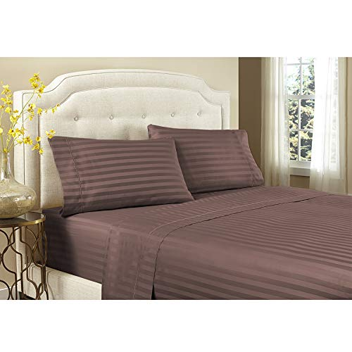 AURAA Long Staple Pima Cotton Sheet Set-California King