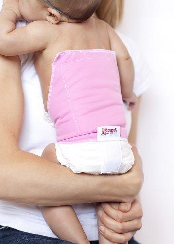 Blowout Blocker Diaper Extension - Prevent Diaper Blowout Mess (Pink)