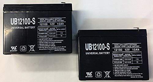 Universal Power Group - 12V 10Ah NEW BATTERY FOR EZIP SCOOTER