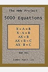 EQN-001: 5000 Equations Paperback