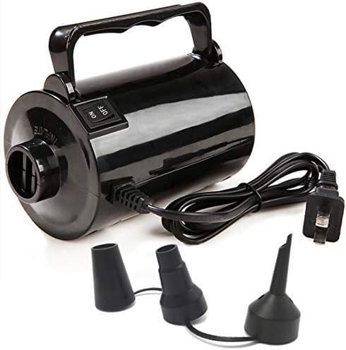 [해외]Gifts Sources Electric Air Pump for Inflatable Pool Toys - High Power Quick-Fill Air Mattress Inflator Deflator Pump for Pool Float Raft Airbed3 Nozzles 110-120V AC 1.6PSI Air Flow 26CFM / Gifts Sources Electric Air Pump for Inflat...