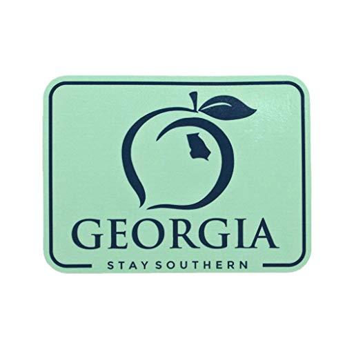 (Georgia Patch Decal - Mint (Georgia Patch Decal - Mint) )