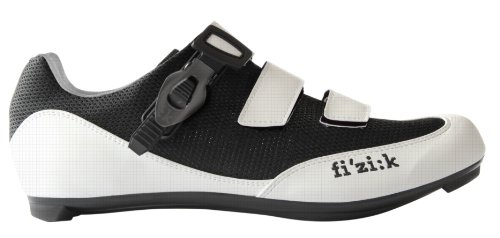 Fizik R5 Shoes Men white-black Größe 42 2015 Schuhe