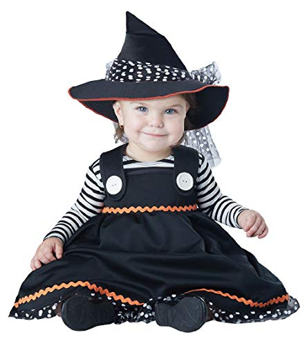 Crafty Little Witch Sorceress Dress Up Adorable Infant Girls Costume