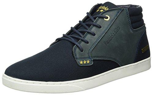 Pantofola dOro Herren Prato Canvas Mid Men Sneaker Blau (Dark Navy)