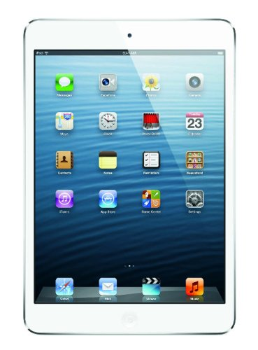 Apple iPad mini MD531LLA (16GB Wi-Fi Only White  Silver)
