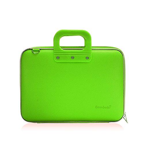 bombata-medio-briefcase-13-inch-green