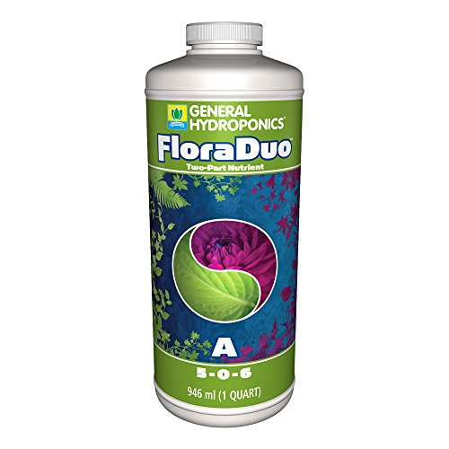 Review GENERAL HYDROPONICS FLORA DUO