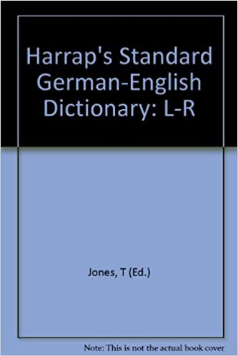 Harraps standard German and English dictionary