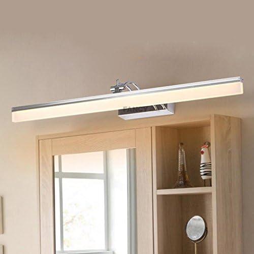 Spiegelleuchten LED Spiegel Scheinwerfer, Badezimmer Make-up Lichter Spiegel Lichter Badezimmer Spiegel Schrank Lichter Badbeleuchtung ( Farbe : Warmweiß-100cm )
