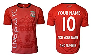 Liverpool Soccer Jersey Adult Men's Training Custom Name and Number