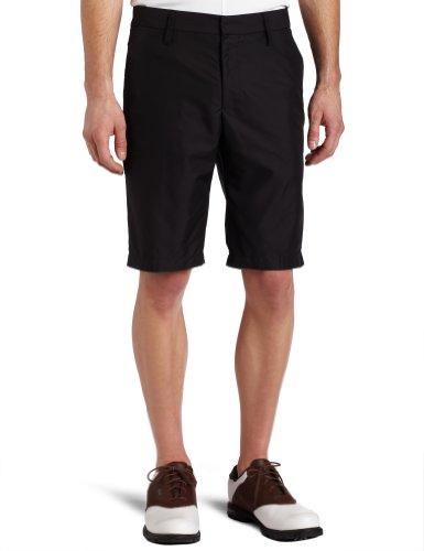 J.Lindeberg Golf Mens True Micro Twill Shorts, Black, 33