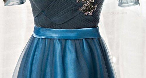 Drasawee Kleid Empire Blau Blau Damen zqTzwB1