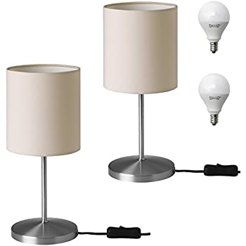Ikea Ingared Desk Table Lamp Set With Led Bulbs For Office